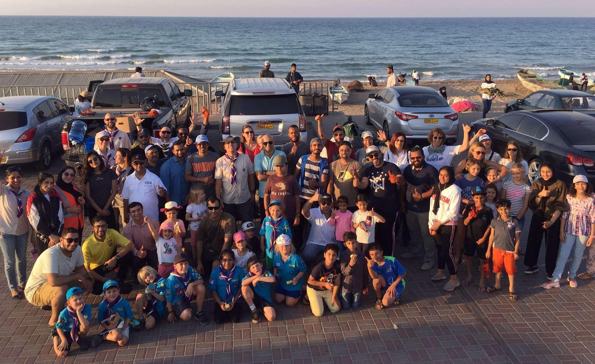 OAB Organises Clean-up Of Al Ghubrah Beach In